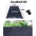 GeoMAX100 * Höhe 10cm Böschungsbefestigung Uferbefestigung 22,75qm