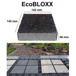 EcoBLOXX Pflastersteine 1qm Höhe 4,8 cm rot