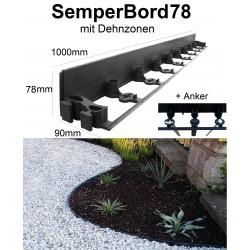 SemperBorder78 halbe Palette 288m + 864 Anker