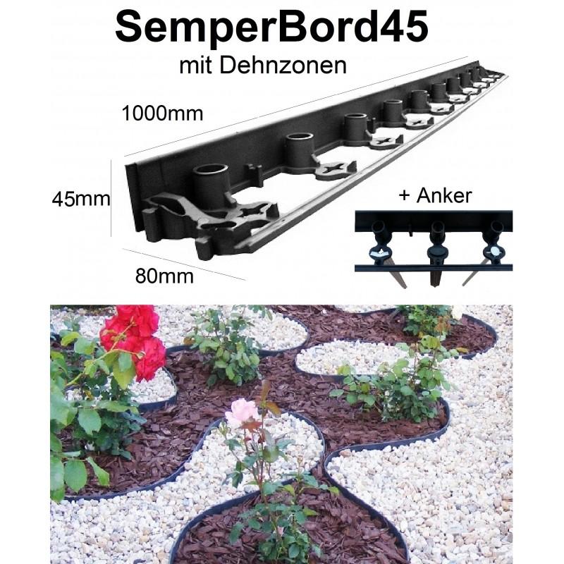 SemperBord45*Rasenkante