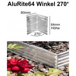 AluRite64 Höhe 6,4cm Winkel 270 Grad Außer Ecke