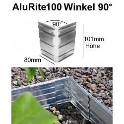 AluRite100 Höhe 10cm Winkel 90 Grad Inner Ecke