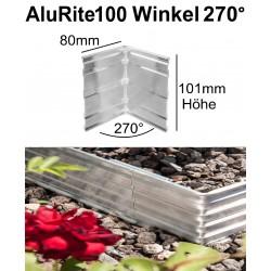 AluRite100 Höhe 10cm Winkel 270 Grad Außer Ecke
