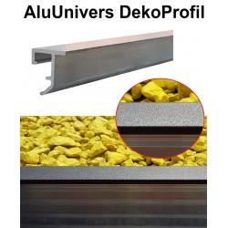 AluUnivers DekoProfil Abschlußkante Fallschutz Mähkante Trennlinie
