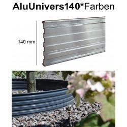 AluUnivers Höhe 14cm in 53 Farben 8x2m Randbegrenzung aus Aluminium